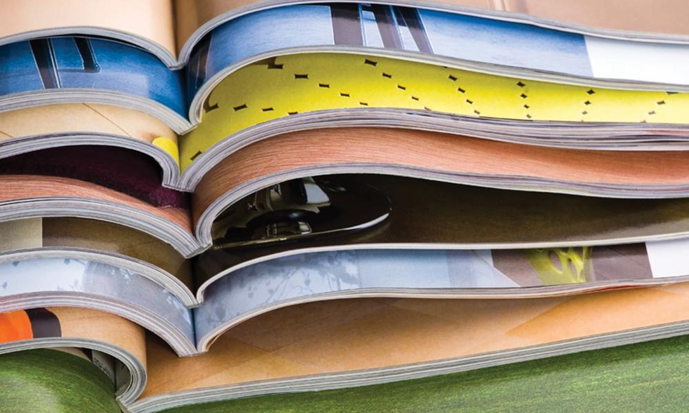 B2B Print solutions: magazines