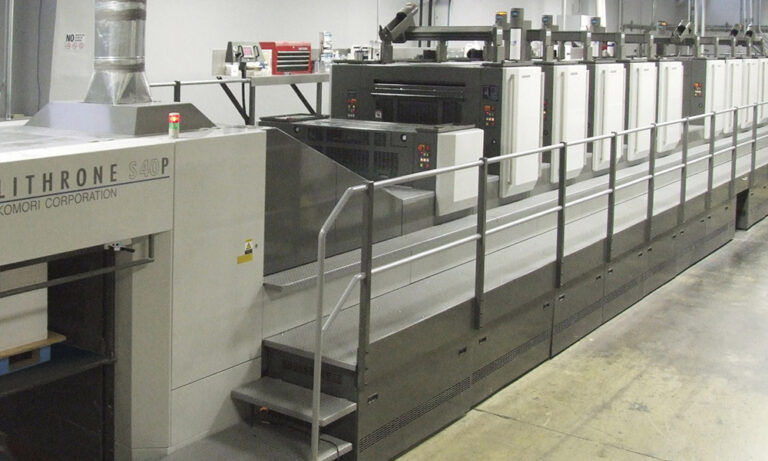 Printing Services: Perfector Offset Lithography Printing Press