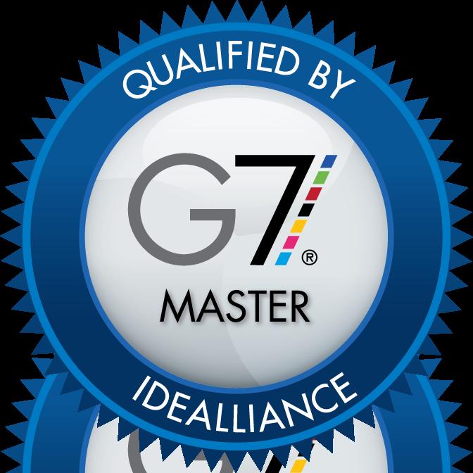 G7 Color certified printer