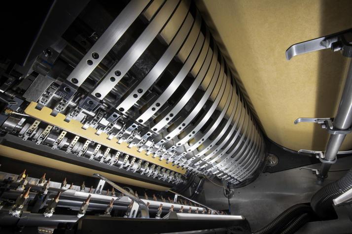 Komori offset printer