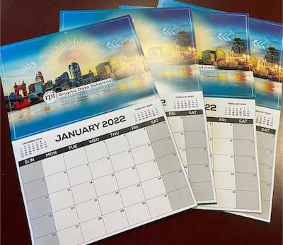 2022 RPI Cincinnati Skyline calendar