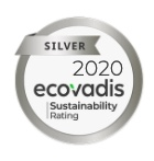 Ecovadis Silver Sustainability rating